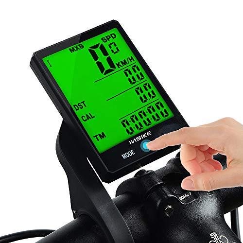 Lidauto Fietscomputer, 2,8 inch, groot display, mountainbike, waterdicht, draadloos, voor fiets, verstelbaar, stopwatch