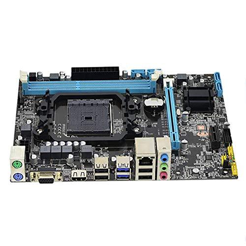 Cuasting Carte mère A88+ All Solid State FM2 906FM2+904 DDR3 pour SATA III 16G Dual Channel Convient pour ordinateur de bureau