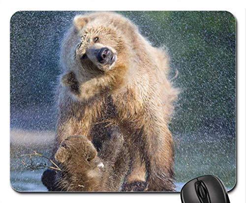 Mauspads, Dusche von Mutter Mauspad, Mauspad (Bears Mouse Pad)