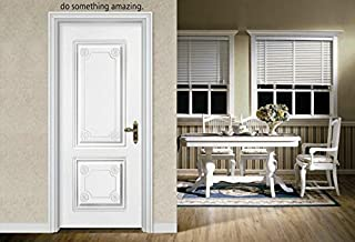 Byyoursidedecal do something amazing Over the Door Vinyl Wall Decal Art Quotes Inspirational Sayings (2