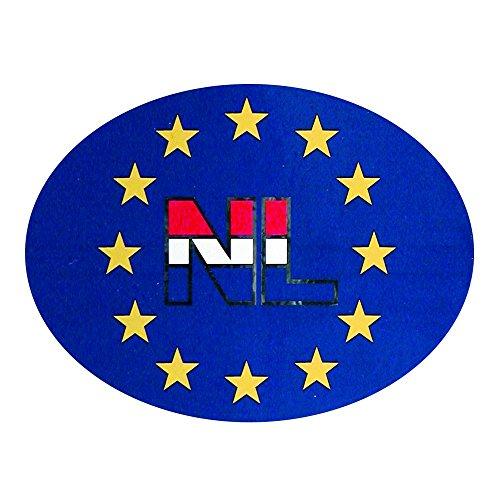 Carpoint - NL stickers - 11,2x8 cm - Wit