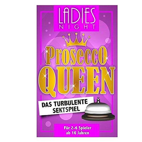 Party Spiel - Spiel Gesellschaftsspiel - Ladies Night - Prosecco Queen - das turbulente Sektspiel