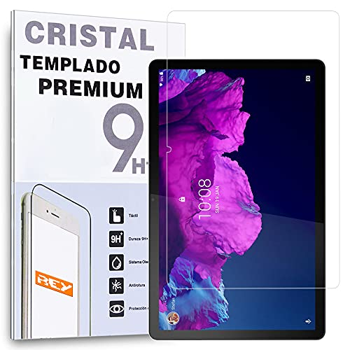 REY Protector de Pantalla para Lenovo Tab P11 (11') - Tab P11 Pro (11') - Yoga Tab (11'), Cristal Vidrio Templado Premium