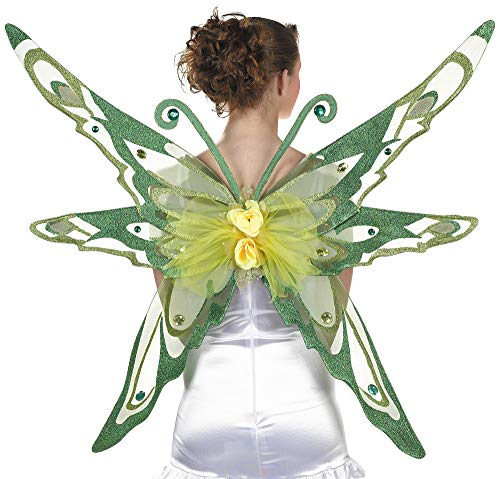 amscan 841151 Woodland Fairy Wings Costume for Adults, 1 Piece