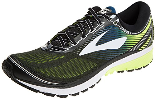 Brooks Ghost 10, Zapatillas de Running para Hombre, (Black/White/Nightlife 1d024), 41 EU