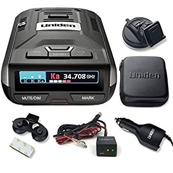 Uniden R3 Extreme Long Range Radar Laser Detector with GPS and Hardwire Kit