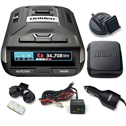 Cheap Uniden R3 Extreme Long Range Radar Laser Detector with GPS and Hardwire Kit