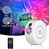 Galaxy Projector with LED Nebula,Works with Alexa & Google Home Controled by Voice,WIFI Starry...