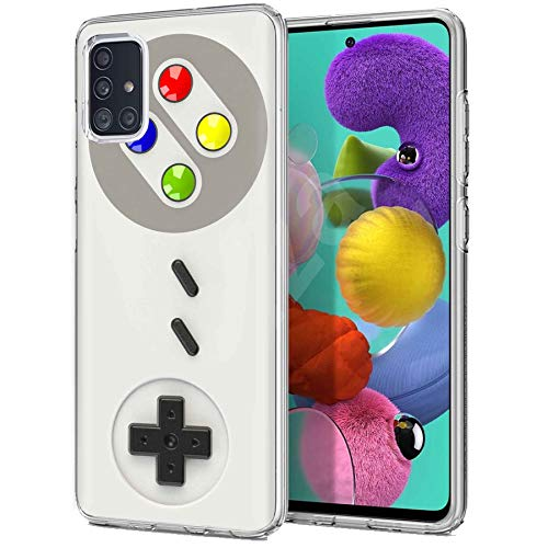 TalkingCase TPU Phone Case for Samsung Galaxy A51 5G, Gameboy Print, Light Weight,Flexible,Soft Touch Cover,Anti-Scratch,Designed in USA