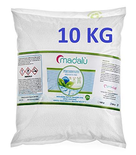 MAMICUP Percarbonato di Sodio puro10 kg smacchiante, sbiancante, igienizzante