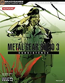 Metal Gear Solid 3: Subsistence Official Strategy Guide (Bradygames Official Stratgy Guides)