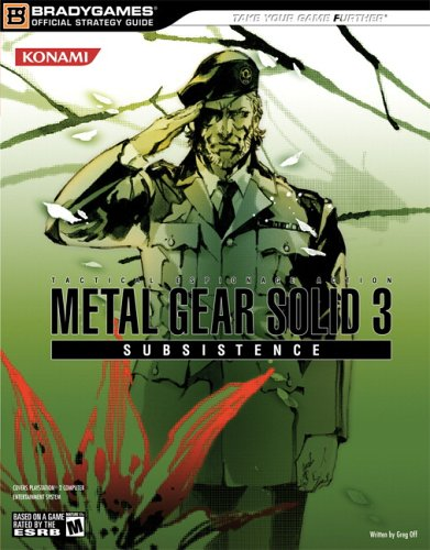 Metal Gear Solid 3: Subsistence Official Strategy Guide (Official Strategy Guides)