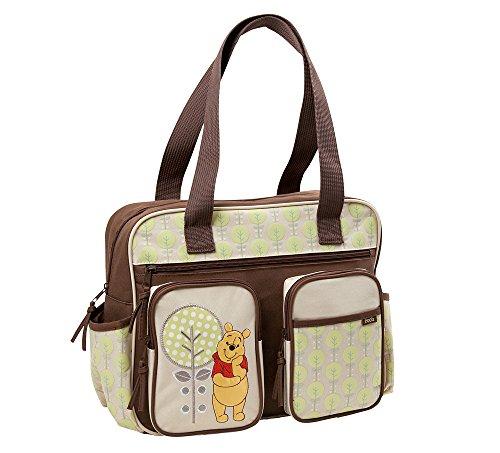 Winnie the Pooh Baby Wickeltasche - braun/beige, neutrale Farben aus USA