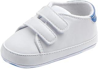 UOMOGO Scarpine neonato Sneaker in Pelle Pattini di Bambino Ragazza Bowknot Leater Antiscivolo per 0~18 Mesi