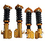 JDMSPEED New Coilovers Suspension Spring Shock Replacement For Subaru Impreza WRX GDB GDA 2002-2007 Saab 9-2X