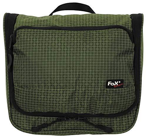 Fox Outdoor - Borsa per biancheria, colore: verde oliva resistente, in nylon