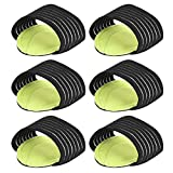 Vbestlife 3 Pairs Foot Arch Supports, Brace Adjustable Strap, Fit Cushions for Men Women Pain Relief, High Arches Cushioned Pad for Plantar Fasciitis Heel Spurs, Shoe Insoles Pads Sore Relieve