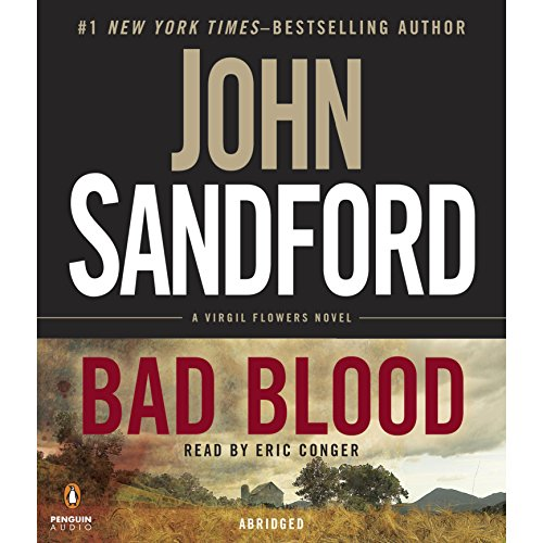 Bad Blood audiobook cover art