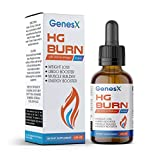 Genesex Metabolism Booster Drops Burn Bure Belly Fat, Increase Muscle, Reduces Aging, Increases Energy and Improves Mood Naturally. Weight Loss Drops Boost Metabolism That Slows with Age. Diet Drops