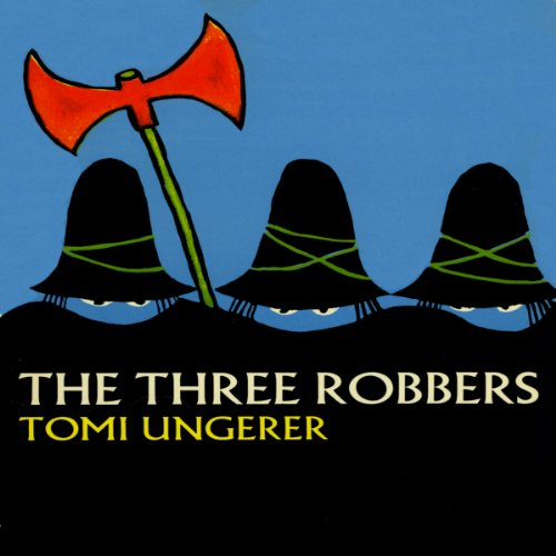 The Three Robbers audiobook cover art