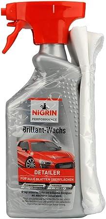 Nigrin 20002 Brillant Wachs Und Mikrofasertuch 500 Ml Auto