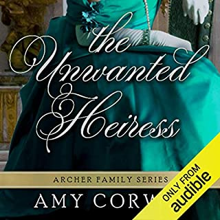 The Unwanted Heiress audiobook cover art