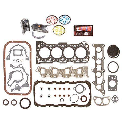 Evergreen Engine Rering Kit FSBRR8005EVE\2\1\1 Fits 89-95 Geo Tracker Suzuki Sidekick 1.6 SOHC G16KC Full Gasket Set, 0.25mm / 0.010