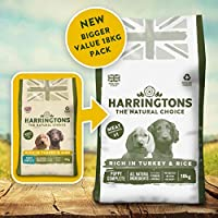 Enhanced, bigger, Amazon exclusive monthly sized bag of dog food, your dog will love Balanced ratio of omega 6 and 3 oils for a glossy coat Seaweed, a natural source of vitamins, minerals and trace elements With Turkey, a good source of protein for e...
