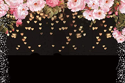 New Spring Flowers Blossom Backdrop 7x5ft Wooden Fence Photos Background Girls Spring Photo Shoots Kids Birthday Decoration Toddlers Boys Shoots Bridal Shower Video Studio Props