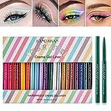 20 Farben Eyeliner Set , Eyeliner Pen, Wasserfest Kajalstift bunt Lidstrich Augen Kosmetik Makeup...