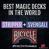 RecontraMago Magia Bicycle - Las Top Barajas Mágicas del Mundo Ahora en Cartas Bicycle - Trucos de Magia para niños y Adultos (Stripper + SVENGALI)