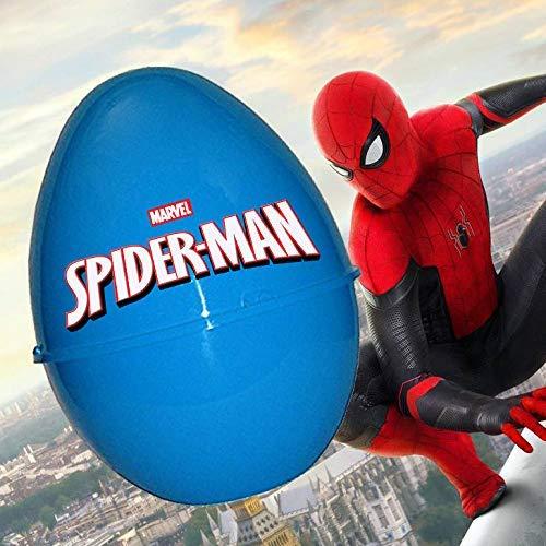 LIBROLANDIA Uovo di Pasqua in Plastica Tematico (Spider-Man)