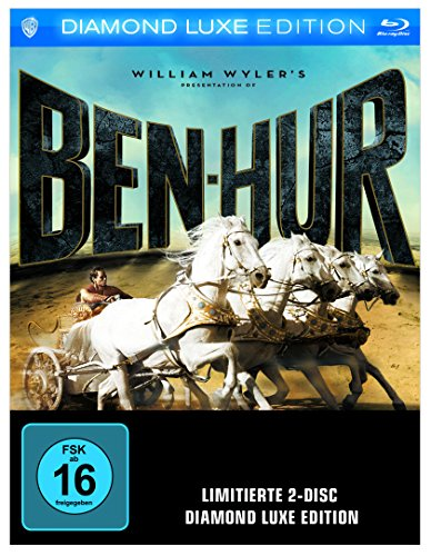 Ben-Hur - Diamond Luxe Edition (exklusiv bei Amazon.de) [Blu-ray] [Limited Edition]