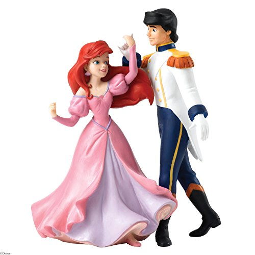 ENESCO Enchanting Disney Collection Ariel and Eric Figurine, Stein, Multicolour, 10 x 17 x 25 cm