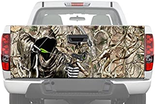 Bow Reaper Obliteration Buck Camo Hunting Tailgate Graphic Decal Sticker for Pickup Truck Ford Chevy Dodge (24
