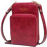 Pearl Angeli - Bolso de mano para mujer (protección RFID, piel sintética)