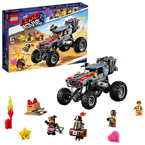 LEGO THE LEGO MOVIE 2 Escape Buggy 70829 Building Kit, Build and Play Toy Car with Action Heroes (549 Pieces) (Discontinued by Manufacturer)