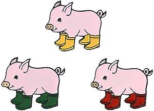 Lapel Pin Smile Premium Enamel Pin Guinea Pig Emoji