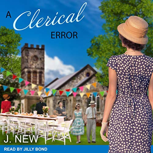 A Clerical Error audiobook cover art