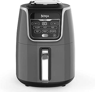 Ninja Air Fryer Max XL AF160, Max Crisp, Air Roast, Bake, Reheat, Dehydrate, 5.2 Litres, 1700 Watts, Grey and Black