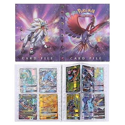 Pokémon Carte Album, Pokemon Cartes Titulaire, Albums de Cartes à Collectionner, Classeur pour Cartes Album Livre Protection