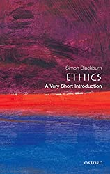 Book cover: Ethics: A Very Short Introduction by Simon Blackburn