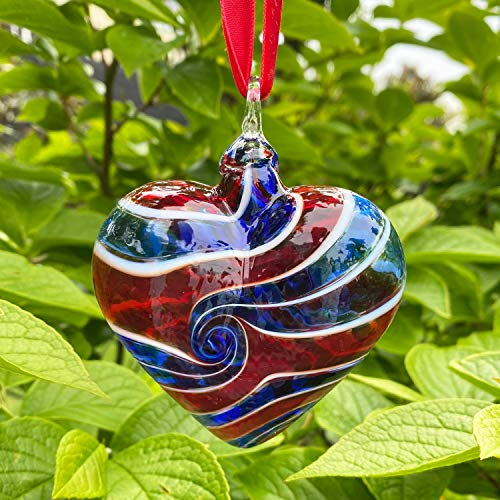 Glass Eye Studio Limited Edition Heart of Hope Ornament