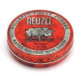 Reuzel Pommade à Haute Brillance Soluble à l'Eau Rouge pour Homme Parfum de Vanille Cola 4 oz/113 g