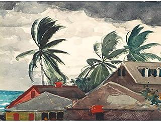 Homer Hurricane Bahamas Painting Art Print Canvas Premium Wall Decor Poster Mural Accueil La Peinture Mur Déco Affiche