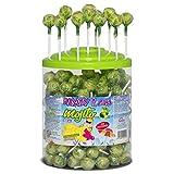 Cerdán Ramzy Fizzy Gum Mojito Caramelos Palo 200 Unidades de 8.5 g