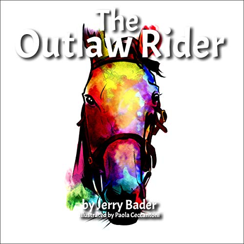 The Outlaw Rider audiobook cover art