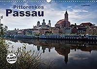 Pittoreskes Passau (Wandkalender 2022 DIN A3 quer): Die Schoenheit der Dreifluessestadt Passau (Geburtstagskalender, 14 Seiten )
