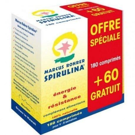 Actibios Spirulina 80+60comp. Marcus Rohrer 300 G, Estándar