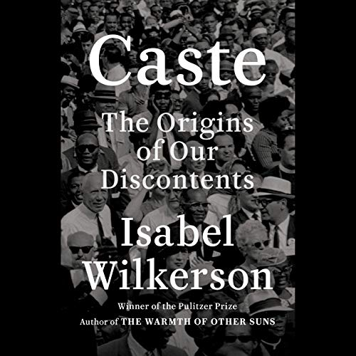 Caste audiobook cover art